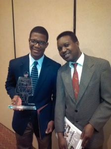 Student of the Year David Bakali & his proud father
